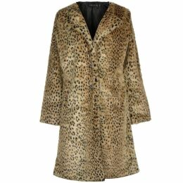 Story of Lola Long Leopard Coat