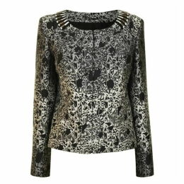 MATTHEW WILLIAMSON Embellished Brocade Jacket