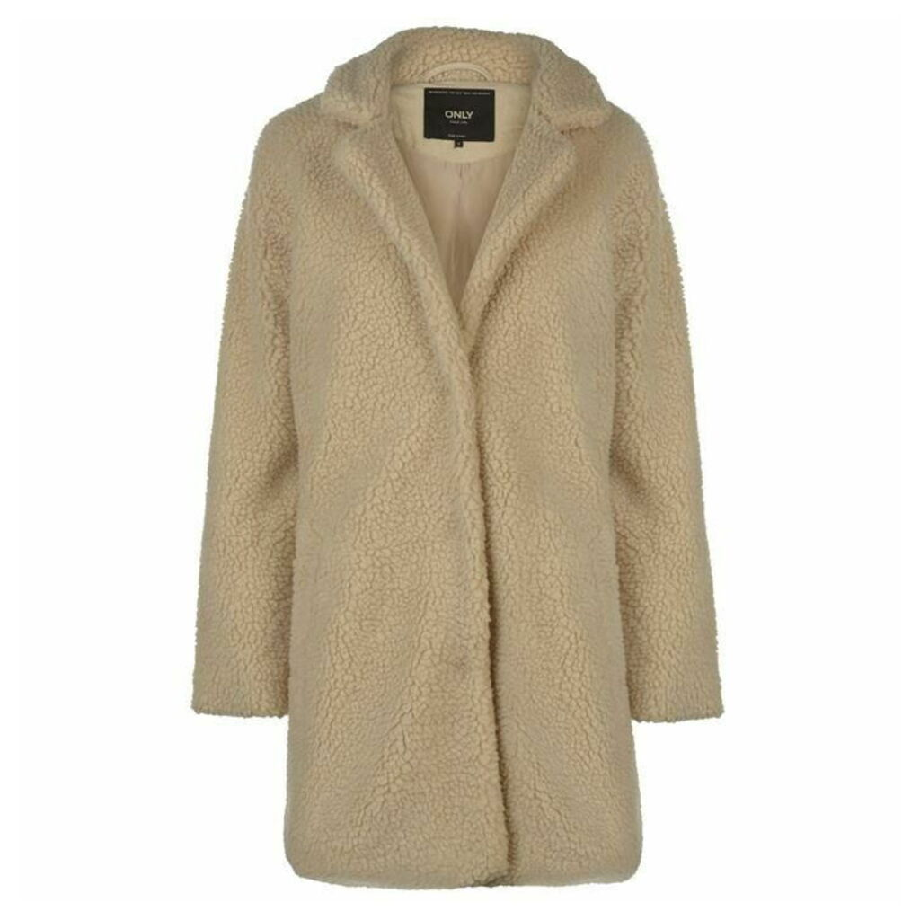 Only Sherpa Long Coat