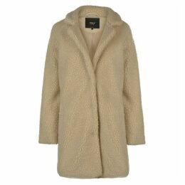 Only Sherpa Long Coat