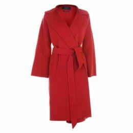 Max Mara Weekend Wrap Wool Coat
