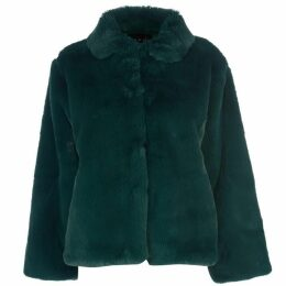 Story of Lola Boxy Teddy Faux Fur Coat