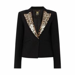 Biba Animal Sequin Blazer