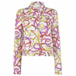 Escada Belco Printed Denim Jacket
