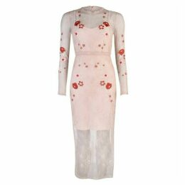 Vila Long sleeve Floral Dress