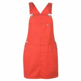 Tommy Jeans Tommy Dungaree Dress Womens