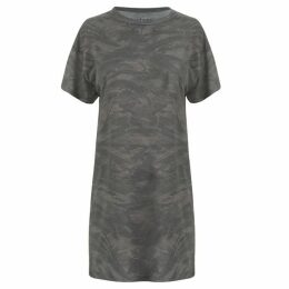 Firetrap Blackseal Camo T Shirt Dress