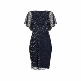 Adrianna Papell Adrianna Beaded Dress