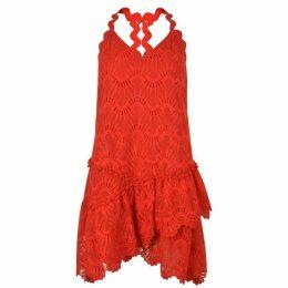 Three Floor Swirl Dress