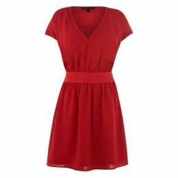 Armani Exchange Armani Logo Belt Dress