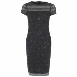 Adrianna Papell Adrianna Papell Embellished Dress Womens