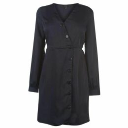 Vero Moda Vero Baya Silk Dress Womens