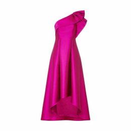 Adrianna Papell Adrianna One Shoulder Dress