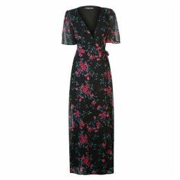 Fashion Union Fashion Rougi Dot Patterned Dress Ladies