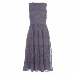 Little Mistress Little Lace Panel Dress