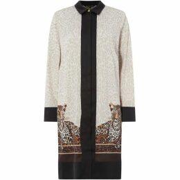 Biba Leopard Shirt Dress