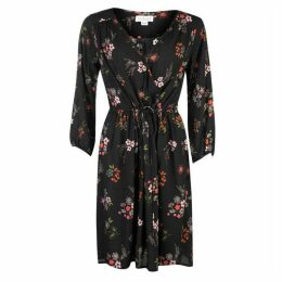 Velvet Flora Dress