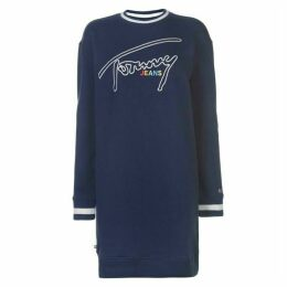 Tommy Jeans Tommy Logo Sweatshirt Dress