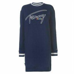 Tommy Jeans Tommy Logo Sweatshirt Dress
