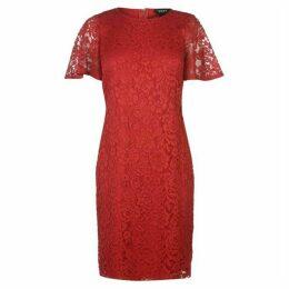 DKNY Drape Sleeve Sheath Dress Ladies