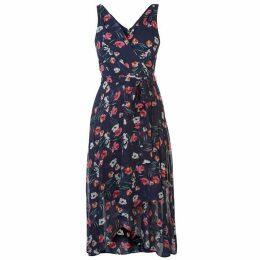 DKNY Wrap Chiffon Dress Ladies