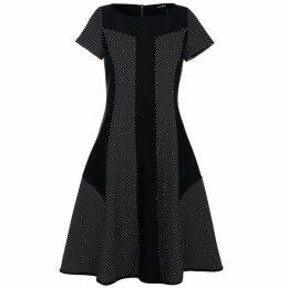 DKNY Boat Neck Straight Dress