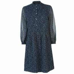 Gant Chiffon Patterned Dress Ladies