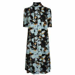Boss Printed Midi Dress