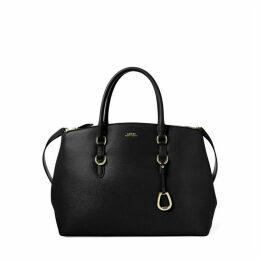 Lauren by Ralph Lauren Bennington medium double zip satchel tote