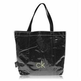 Calvin Klein Transparent Tote Bag