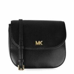 MICHAEL Michael Kors Mott Pebbled Leather Dome Cross Body Bag