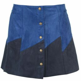 Glamorous Button Front Panel Skirt