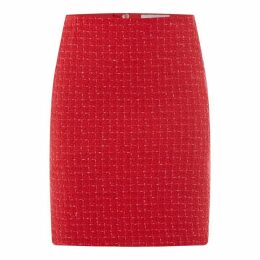 Oui Tweed Skirt Ld93