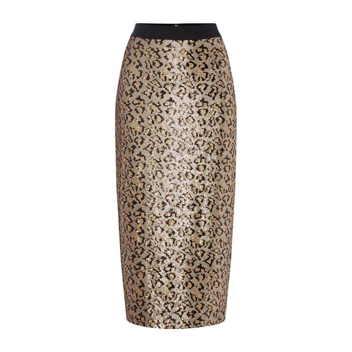 Biba Animal Sequin Skirt