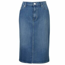 Lauren by Ralph Lauren Daniella Denim Skirt