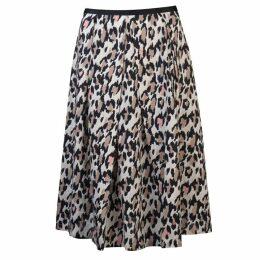 Oui Leopard Skirt