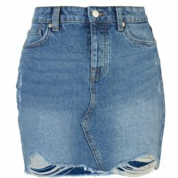 Only Sky Denim Skirt