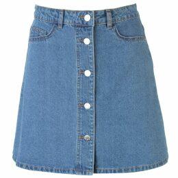 Noisy May Noisy Sunny Button Mini Skirt Ladies