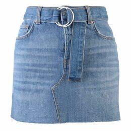 Guess Women's Denim Mini Skirt