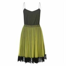 Armani Exchange Armani Net Skirt Dress
