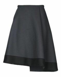 JIL SANDER NAVY SKIRTS Knee length skirts Women on YOOX.COM