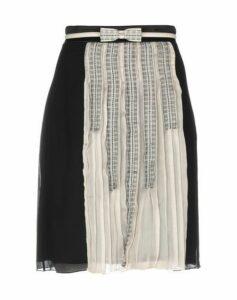 ELISABETTA FRANCHI GOLD SKIRTS Knee length skirts Women on YOOX.COM