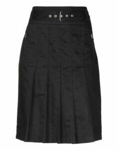 HENRY COTTON'S SKIRTS Knee length skirts Women on YOOX.COM