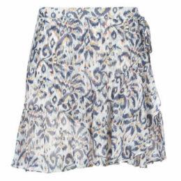 Naf Naf  KATE J1  women's Skirt in White