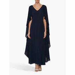 Gina Bacconi Bellerose Maxi Dress, Navy