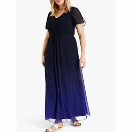 Studio 8 Betty Ombre Maxi Dress, Navy/Cobalt
