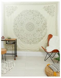 Ian Snow printed cotton wall hanging 220x235cm