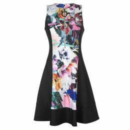DKNY DKNY Floral Zip Dress