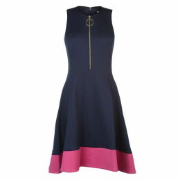 DKNY Slim Line Fit and Flare Dress Ladies