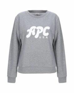 A.P.C. TOPWEAR Sweatshirts Women on YOOX.COM